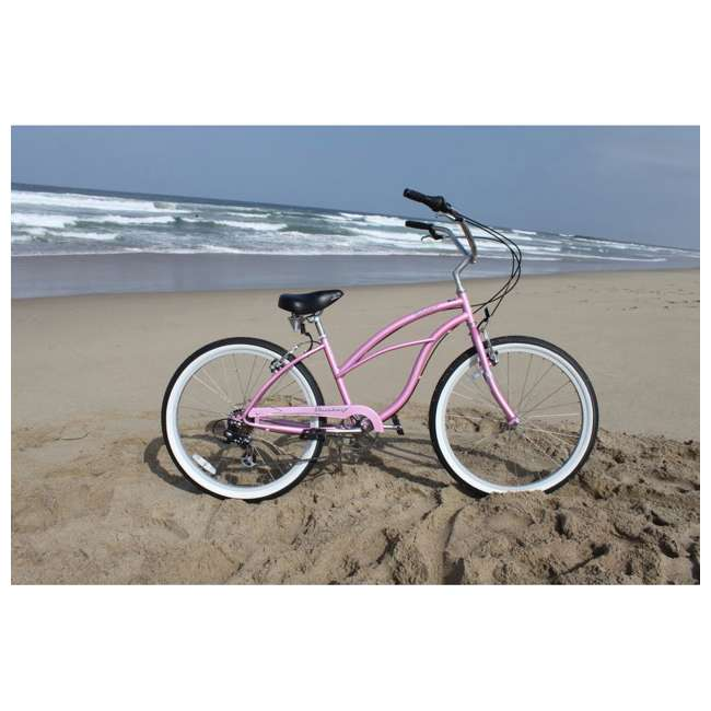"14803 Firmstrong Urban Lady Women's 26"" 7-Speed Cruiser Bike, Pink 1"