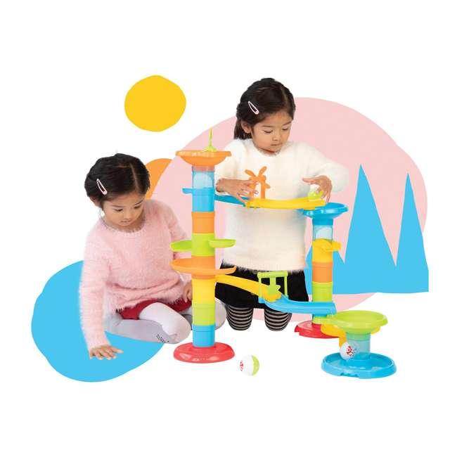 217920 Manhattan Toy Company Stack, Drop & Pop! Preschool Toddler Activity Toy Playset 1