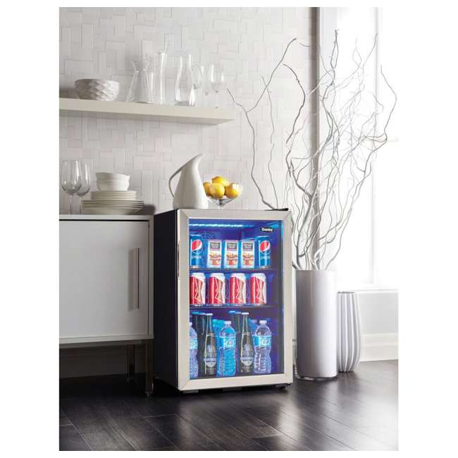 DBC026A1BSSDB Danby 95-Can Beverage Center Mini Fridge Refrigerator 4