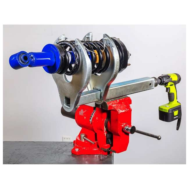 641429 Powerbuilt 641429 Automotive Vehicle Strut Coil C Spring Compressor Tool, Silver 2