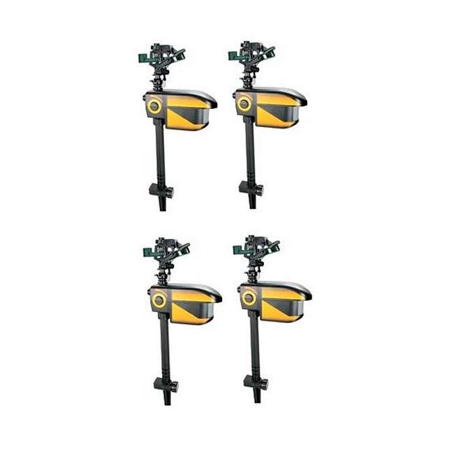 4 x Repel-CONT-Scarecrow 4 Contech SeCrow Motion Activated Animal Sprinklers