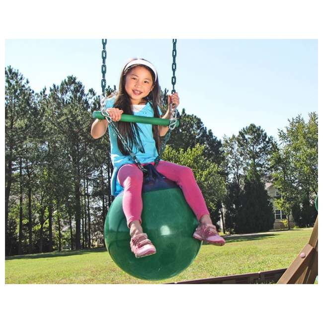 AN968-104 Creative Playthings AN968-104 Kids Playground Swing Set Buoy Ball Swing w/ Chain 1