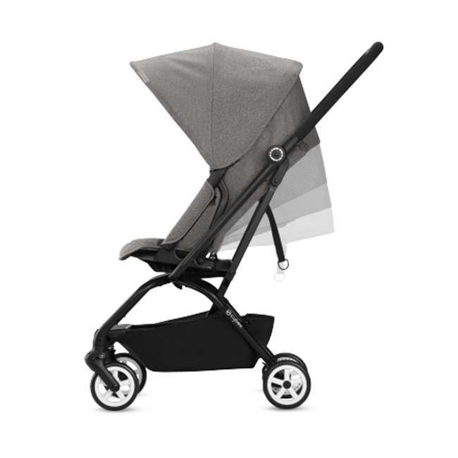 518001265 + 515103015 Cybex Eezy S Twist Stroller, Manhattan Grey & Aton 2  Car Seat 7