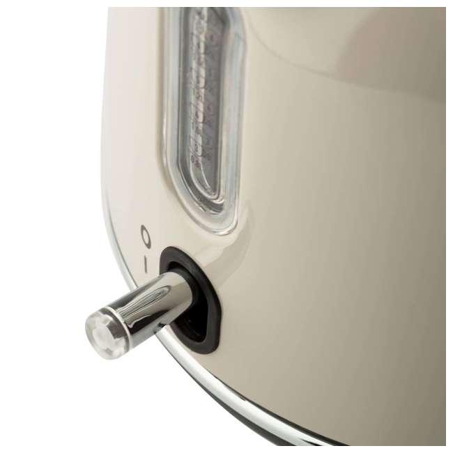 75002 Haden Dorset 1.7 Liter Stainless Steel Electric Kettle with Auto Shut Off, Beige 5