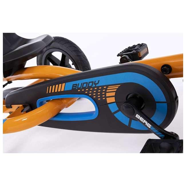 24.20.60.02 Berg Buddy B-Orange Kids Pedal Go Kart 1