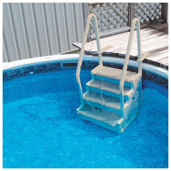 STEP-1 + 87953 Confer STEP-1 Pool Ladder and Ladder Mat 2