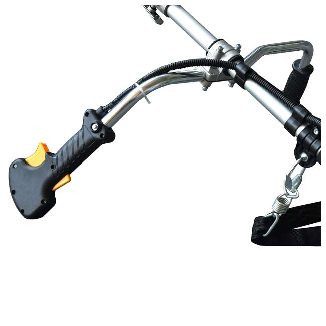 BLMAX-52623 Blue Max 52623 Straight Shaft 42.7cc Gas 2 Cycle Line Trimmer & Brush Cutter (Non-CARB Compliant) 4
