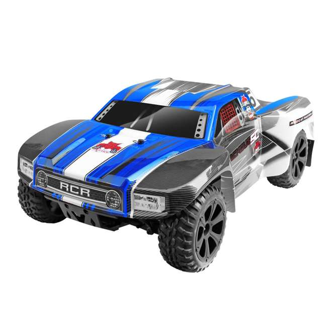 BLACKOUT-SC-BLUE Redcat Blackout SC Brushed Electric RC Short Course Truck