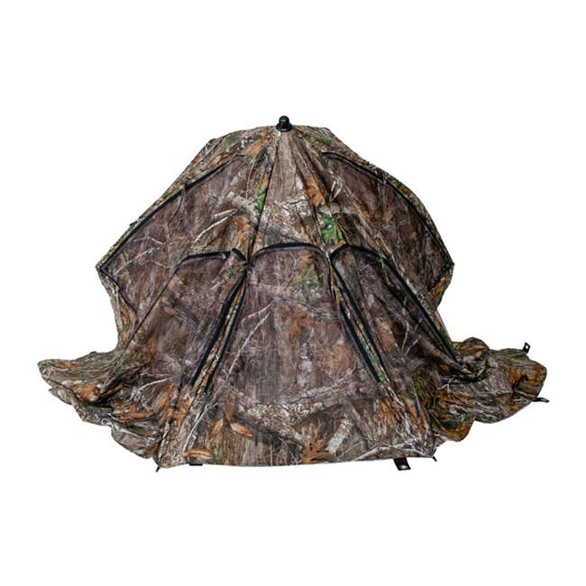 BT2119 Cooper Hunting Big Tom 2 Man Turkey Hunting Ground Blind, RealTree EDGE Camo 2