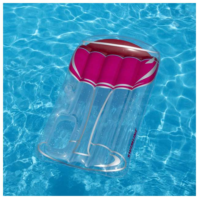 Swimline Inflatable Glass Of Red Wine Swimming Pool Float