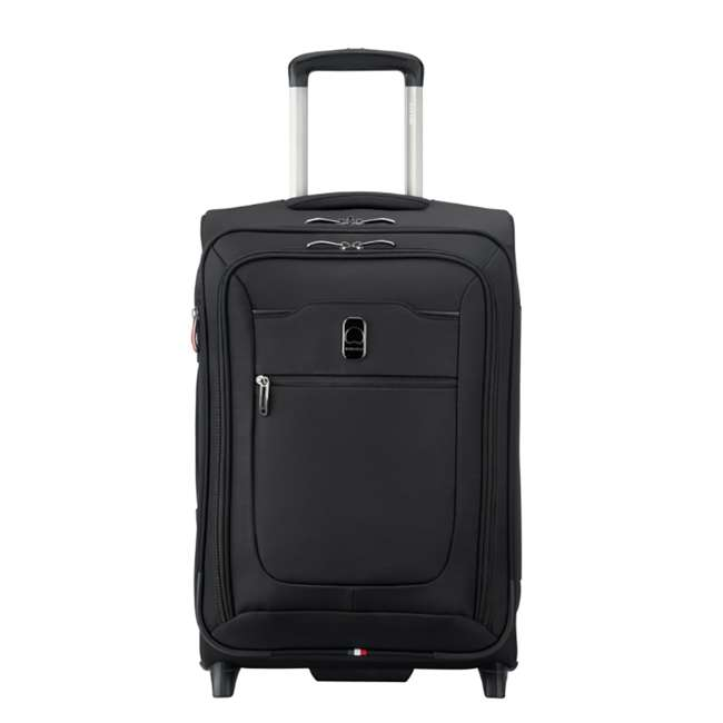 """40229172000 DELSEY Paris 20"""" Upright Expandable 2 Wheel Hyperglide Carry On Luggage, Black"""