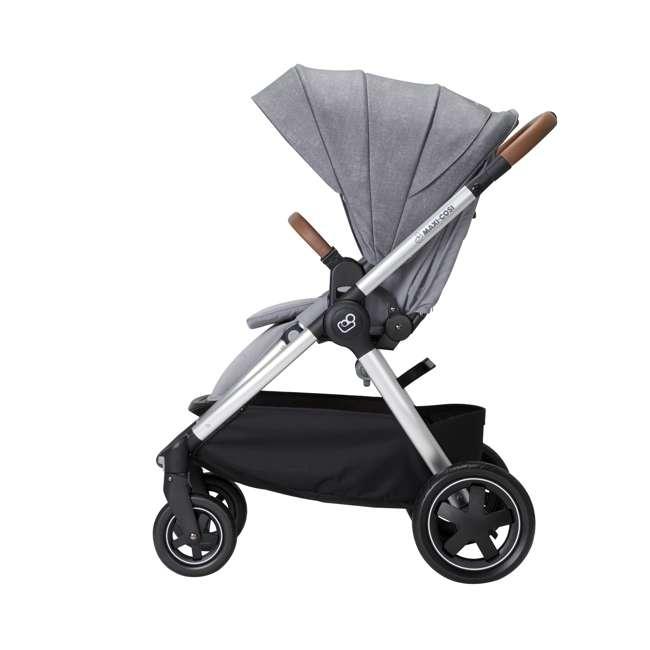 CV371ETL Maxi-Cosi Adorra Forward or Rear Facing Modular Folding Stroller, Nomad Gray 2