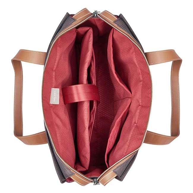 40177435006 DELSEY Paris Women's Chatelet Designer Soft Air Travel Shoulder Bag, Chocolate 4