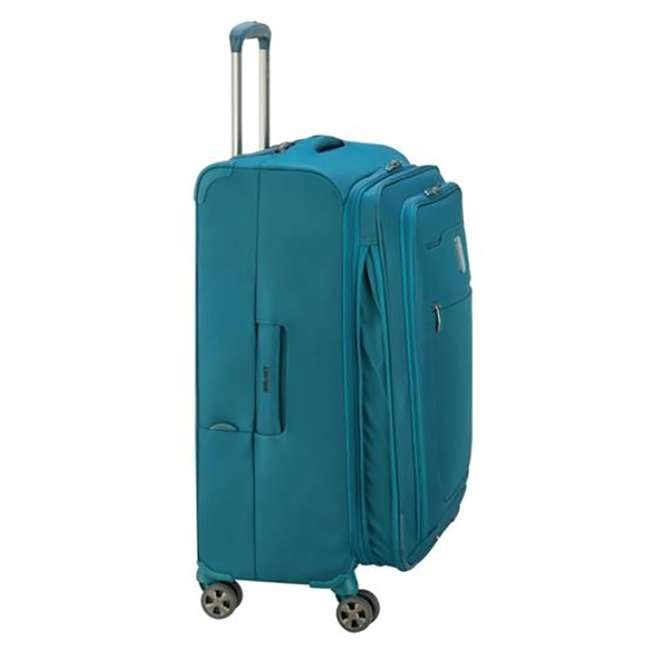 """40229182032 DELSEY Paris 25"""" Expandable Spinner Upright Hyperglide Luggage Suitcase, Teal 5"""