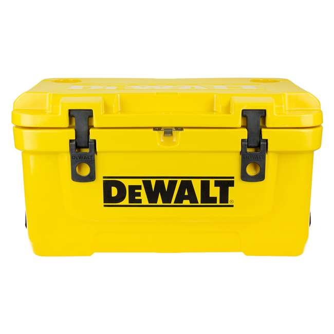 DXC45QT-OB DeWalt 45 Quart Insulated Lunch Box Portable Drink Cooler, Yellow (Open Box)