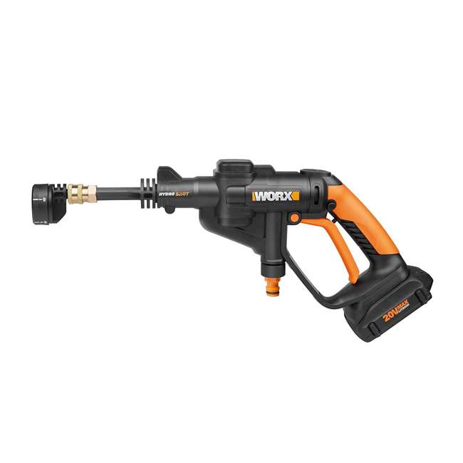 WG629.9 Worx Hydroshot 20-Volt 320 PSI Cordless Power Cleaner (Tool Only) 1