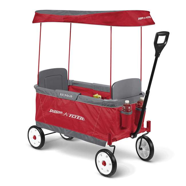 3900X Radio Flyer 2 Passenger Ultimate EZ Folding Wagon