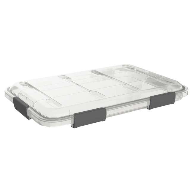 FBA32227 Ezy Storage Weather Proof IP65 50 Liter Plastic Storage Container Bin Box w/ Lid 3