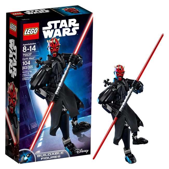 6213574-U-A LEGO Star Wars Darth Maul 9 In. Buildable Figure 104 Piece Set (Open Box) 5