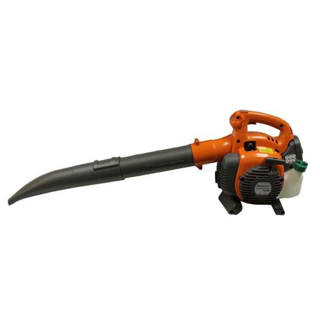 Husqvarna Leaf Blower : Husqvarna b cc mph gas leaf handheld blower