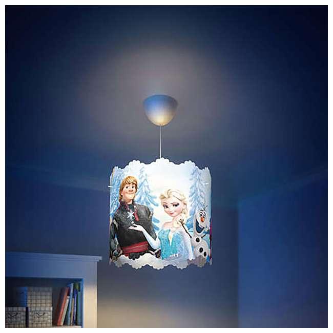 PLC-7175101U0 + PLC-7176737U0 Philips Disney Frozen Lampshade and LED Flashlight 5