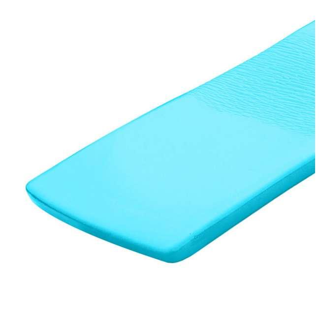 8020026 + 8020031 TRC Recreation Sunsation Foam Lounger Pool Floats, Bahama Blue & Tropical Teal 8