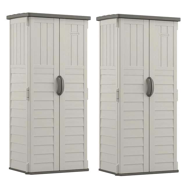 BMS1250 22 cu. ft. Vertical Shed (2 Pack)