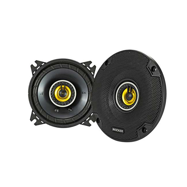 46CSC54 Kicker CS Series 5.25-Inch Car Speaker, Yellow (2 Pack)