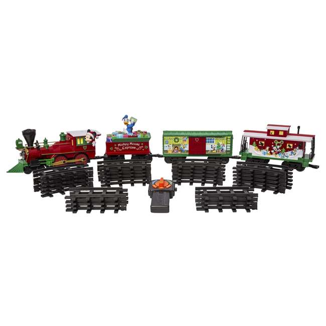 711773 Lionel Trains Mickey Mouse Express Disney Christmas Train Set (For Parts) 8