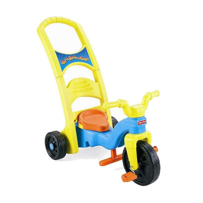 Fisher-Price Rock, Roll 'n Ride Ride-on Tricycle : R6153