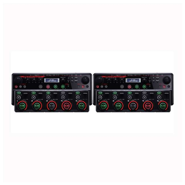 RC-505 Boss Guitar Effects Stereo Phrase Tracks Loop Station (2 Pack)