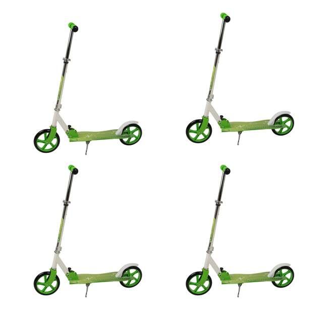 4 x 113-NXT NextGen Scooters 2 Wheeled Aluminum Kick Scooter, Green (4 Pack)
