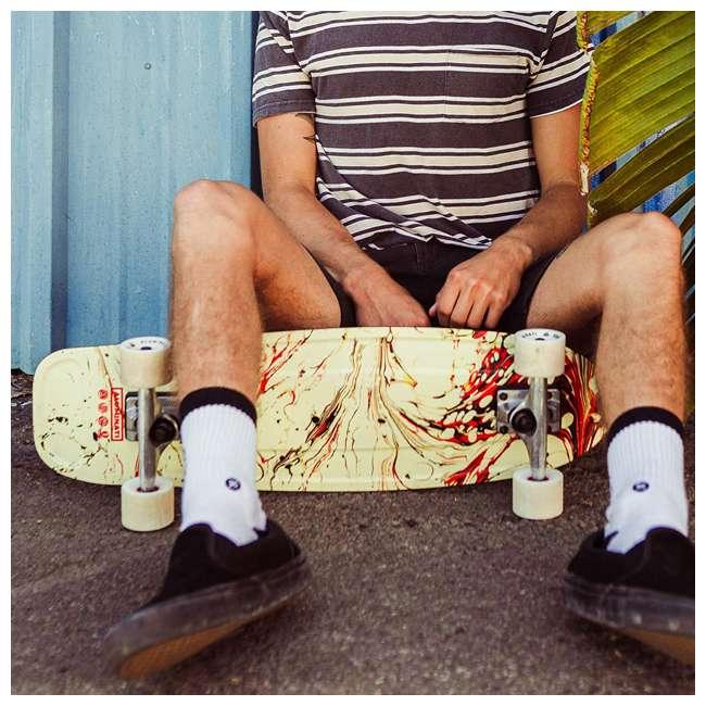 FH1901 Aluminati Pre-Gripped Lightweight Dagger Jerry Cruiser Skateboard with Wheels 1