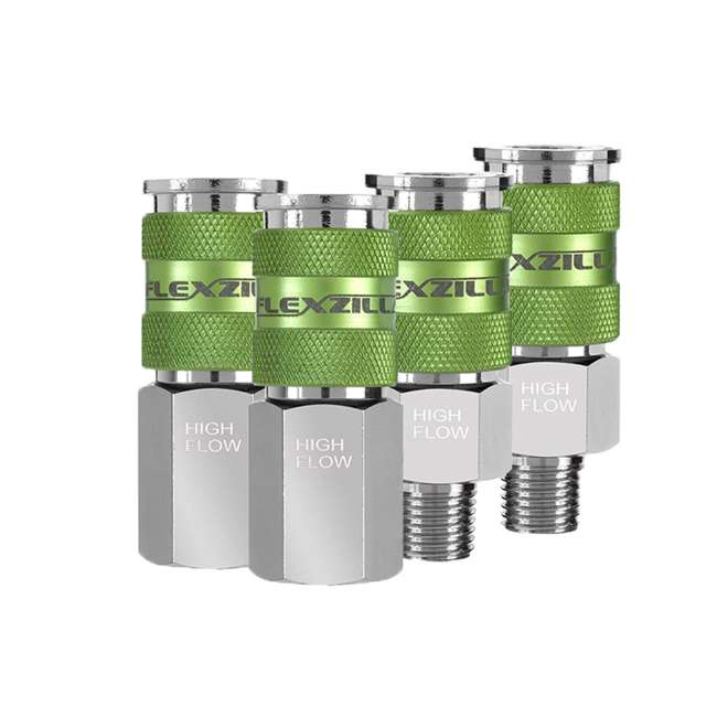 LEG-A53458FZ Flexzilla 14-Piece Pro High Flow Coupler and Plug Kit (2 Pack) 2