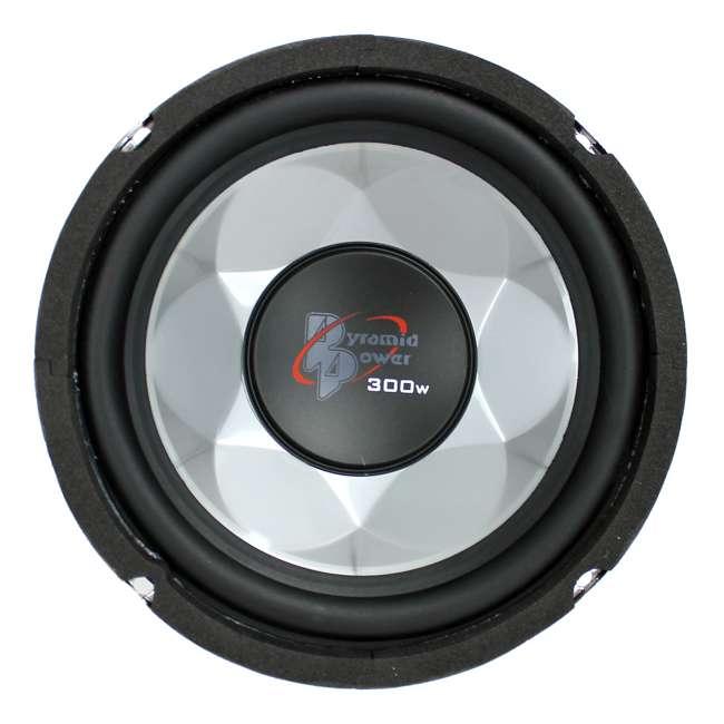 PW677X Pyramid PW677X 6 Inch 300 Watt 4 Ohm Car Audio Power Audio Sub Subwoofer Woofer