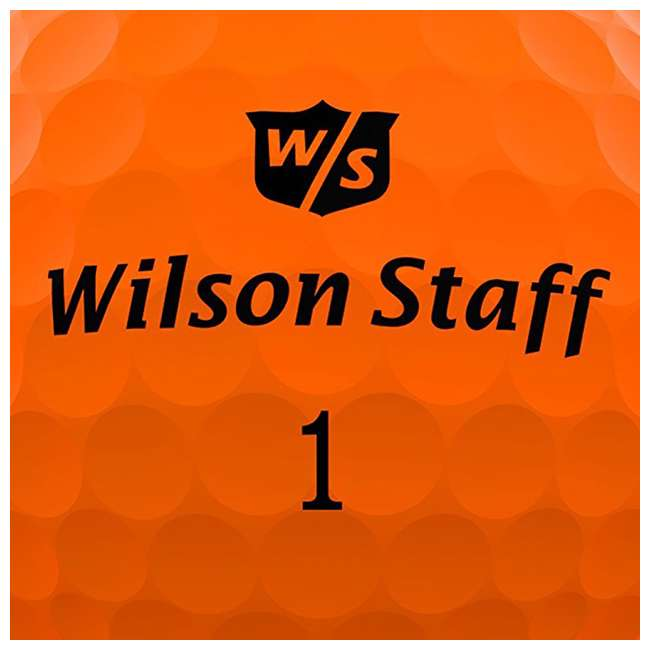 WGGC43400 + WGWP40800 Wilson Ultra Ladies Right-Handed Super Long Golf Club Bag Set & Balls 10