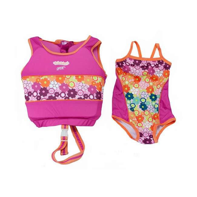 ET9139ML SwimSchool 4 to 6 Years 2 Piece Swim Trainer, Pink