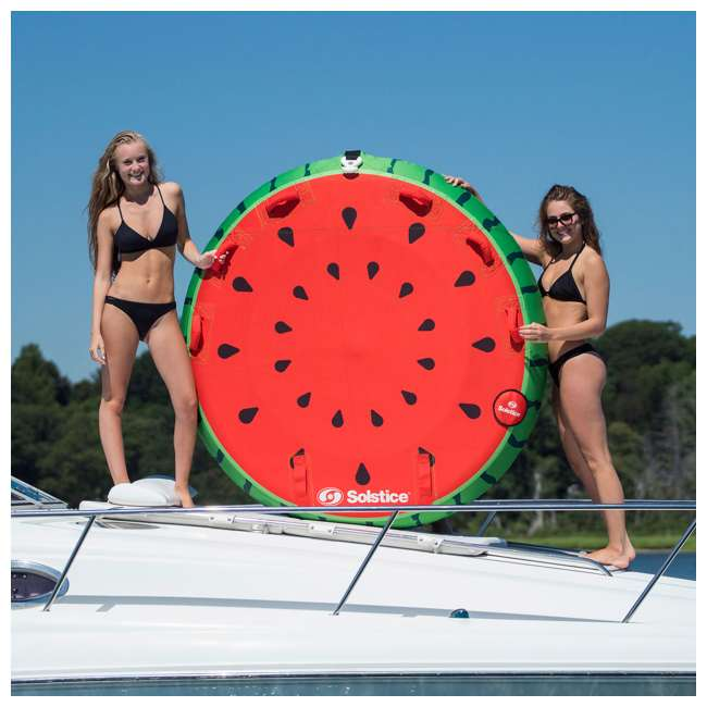 SL-22202 Swimline Solstice 2-Rider Watermelon Island Towable Tube (2 Pack) 4