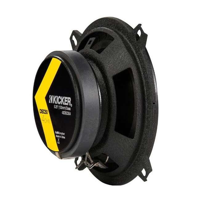 DB462 + 43DSC504 Polk Audio 150W Speakers w/ Kicker 200W Car Audio Speakers 10