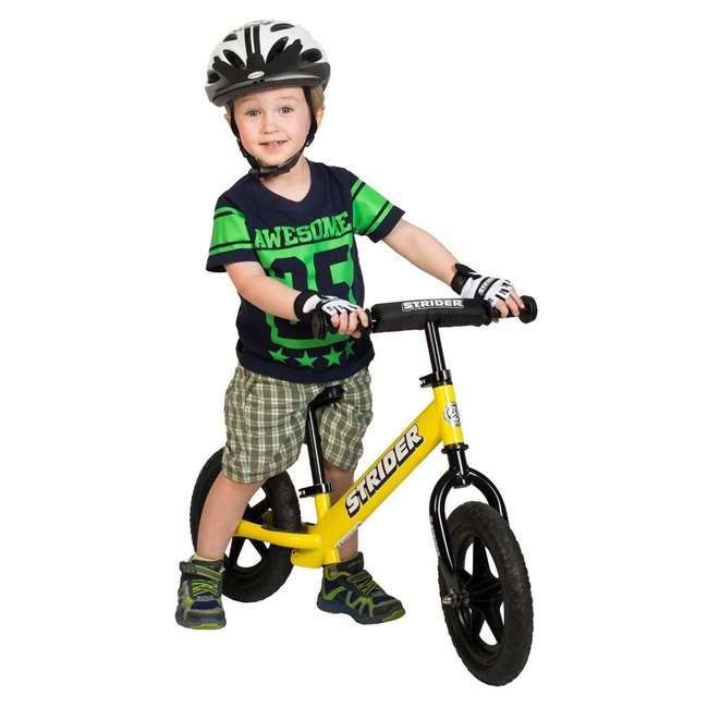 ST-S4YE Strider 12 Sport Balance Kids Learning Bike, Yellow 1