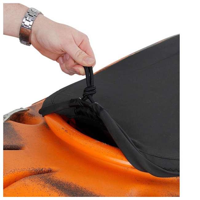 52505.01.100 NRS Super Stretch Neoprene Kayak Cockpit Cover, Universal Plus Size, Black 1