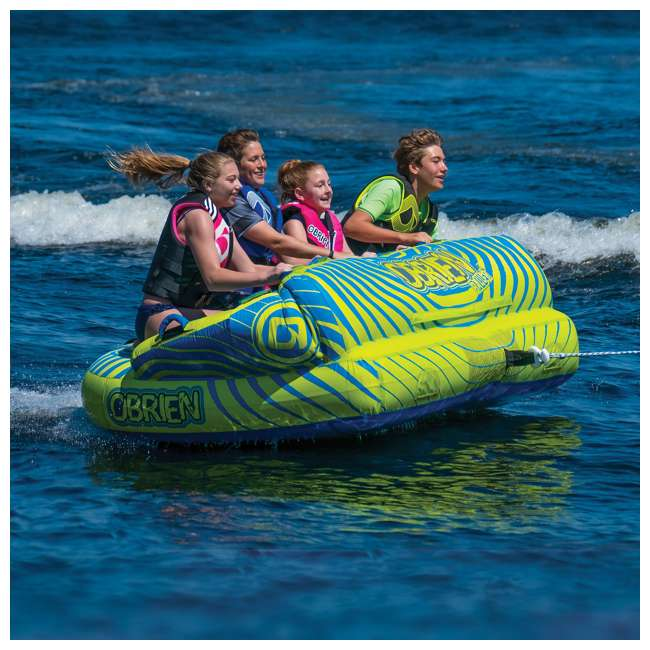 2181558-MW O'Brien Watersports Baller 4 Towable Boat Tube With Up to 4 Person Capacity 2