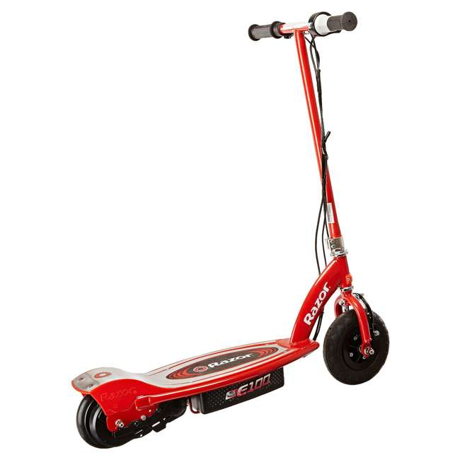 13111260 Razor E100 Electric Scooter, Red 3