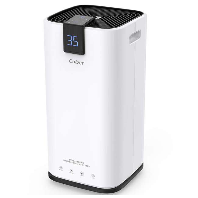 PD123A Colzer PD123A 30 Pint 1500 Sq Ft Portable Home Room Basement Air Dehumidifier