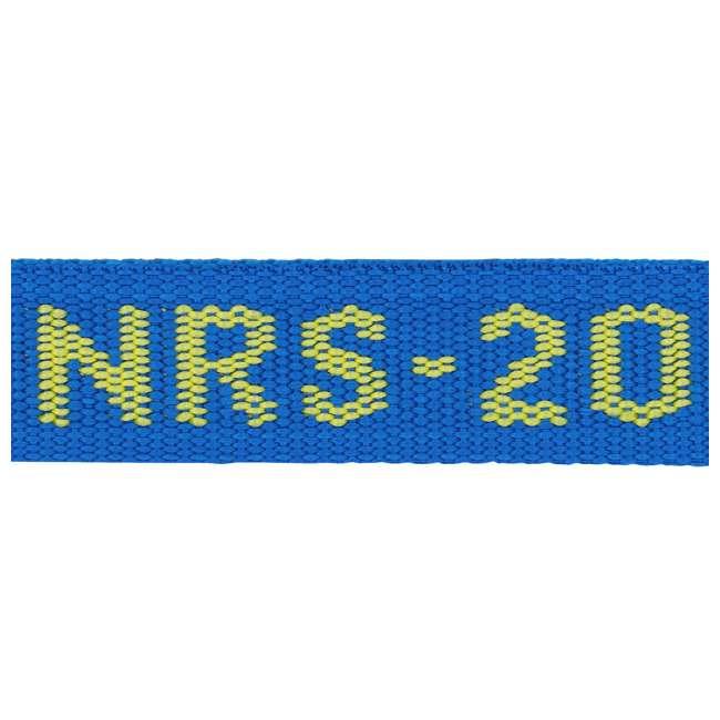 NRS_60001_01_117 NRS 1-Inch Long Heavy Duty Tie Down Strap, 20 Feet Long (Pair) 4