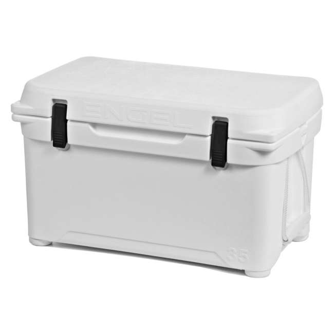 ENG35-OB Engel 35 High-Performance Roto-Molded Cooler, White (Open Box)