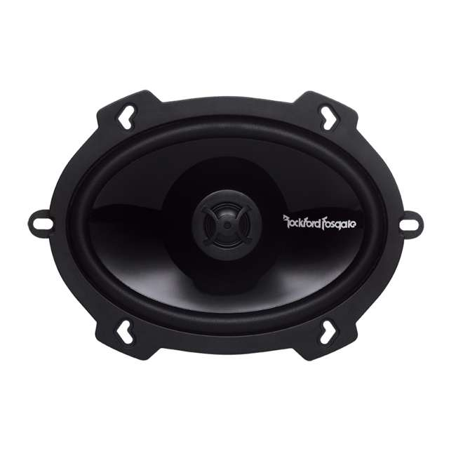 P1572 Rockford Fosgate P1572 5x7-Inch 120W 2 Way Coaxial Speakers (Pair) 2