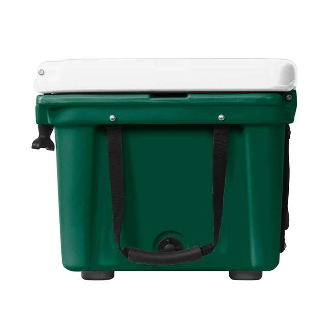 ORCGR/WH026 Orca 26 Quart 24 Can High Performance Roto Molded Insulated Ice Cooler, Green 1
