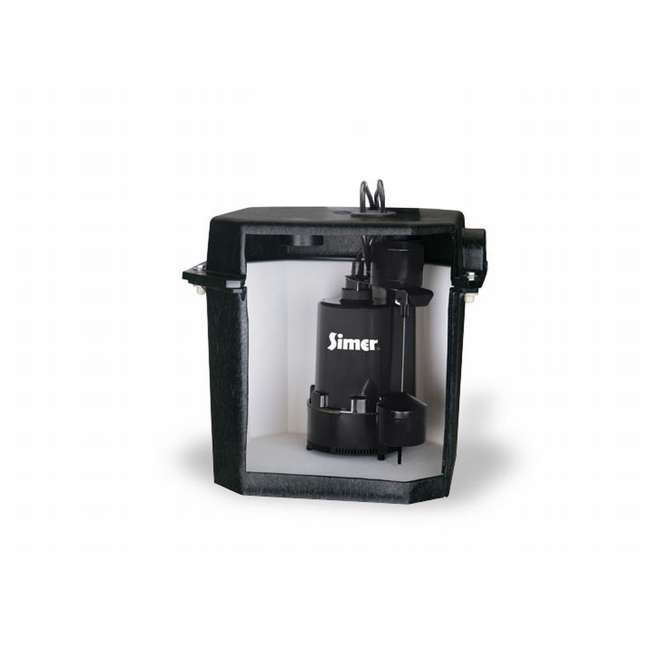 2925B-02 Simer 2925B-02 Self-Contained Above-Floor Laundry Sink Sump Pump