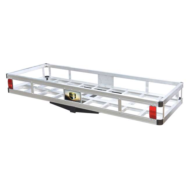 TOW-TTF-2260A Tow Tuff 60-Pound 500-Pound Aluminum Cargo Carrier (2 Pack) 1